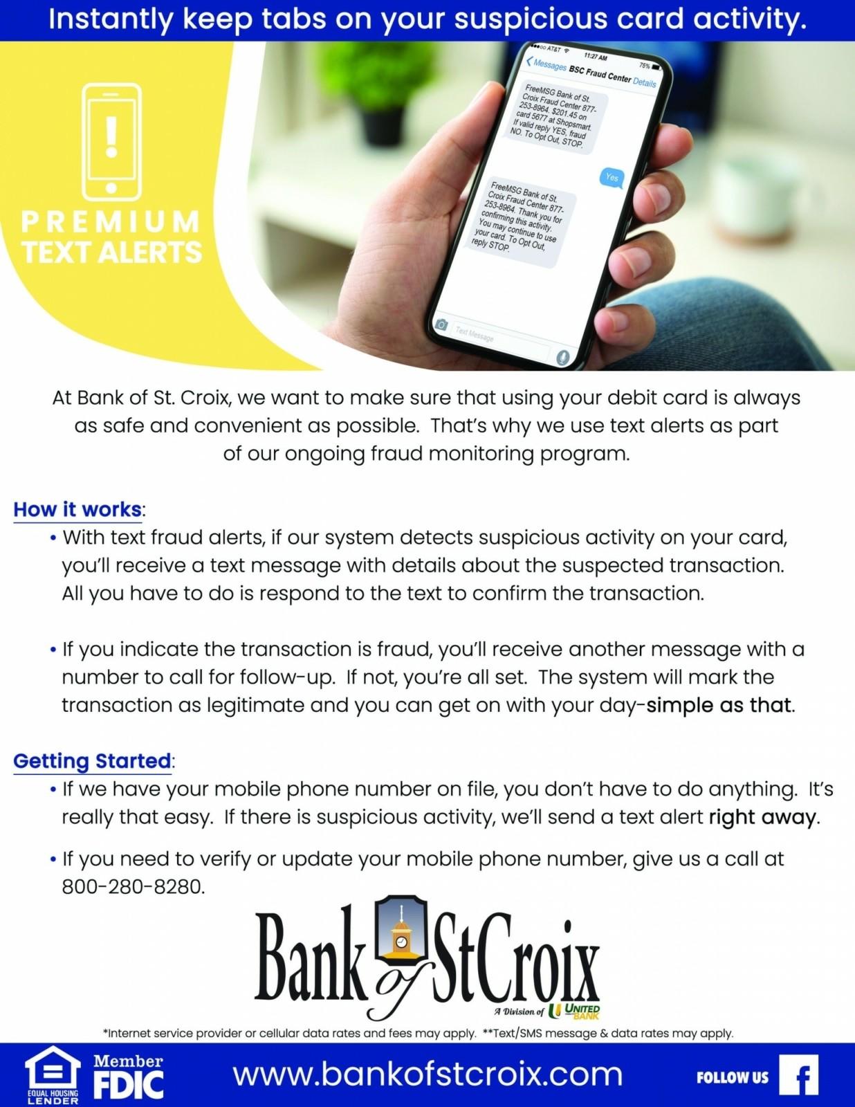 Landing-St Croix-Premium Text Alerts